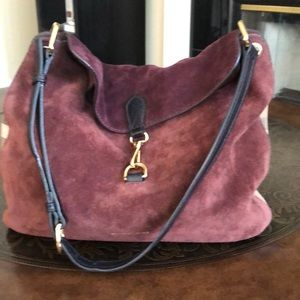 Burberry Suede Tote